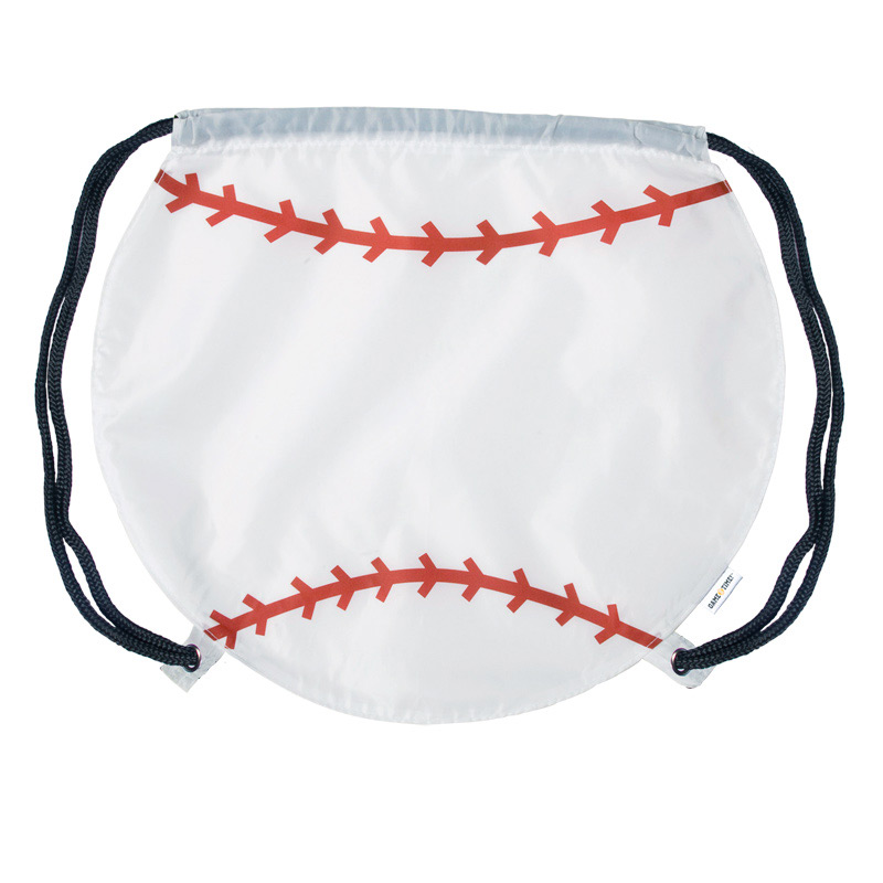 GameTime! Baseball Drawstring Backpack