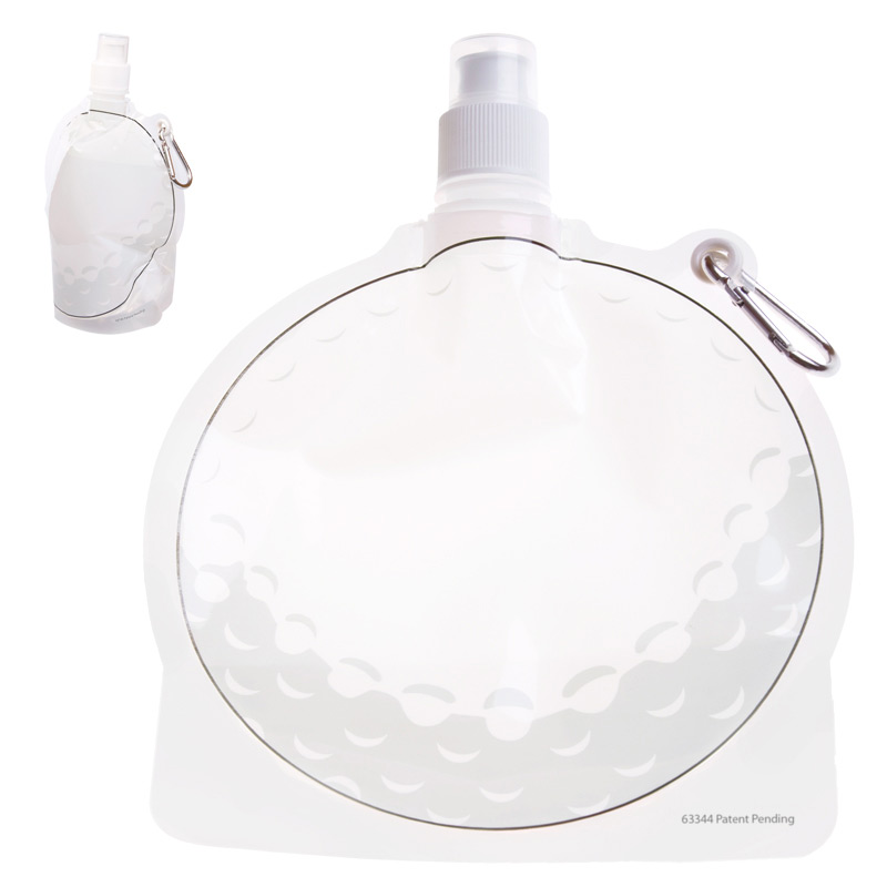 Collapsible Water Pouch 24 oz. - Golf Ball