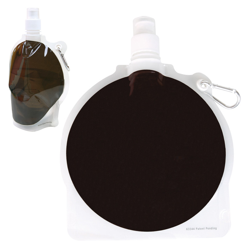 Collapsible Water Pouch 24 oz. - Hockey Puck