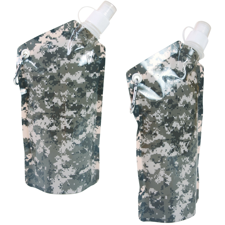 20 oz. Digital Camouflage Smushy Flexible Water Bottle