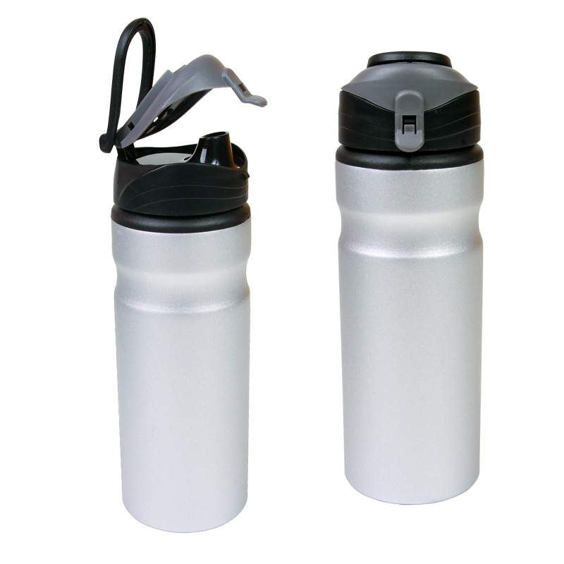 24 oz Aluminum Water Bottle with Flap Cap