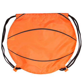GameTime! Basketball Drawstring Backpack