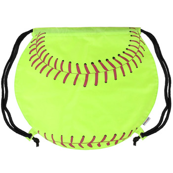 GameTime! Softball Drawstring Backpack