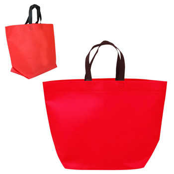 Two Tone Heat Sealed Nonwoven Tote