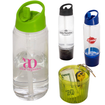 20 oz. Water Bottle w/ Detachable Cup