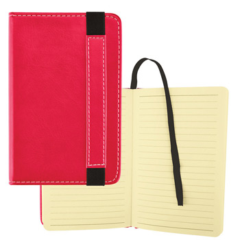 Bound Journal w/ Expandable Pocket – 3x5