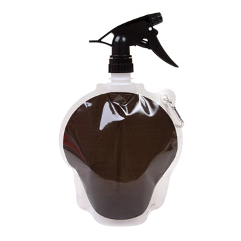 Collapsible Spray Top Water Pouch 24 oz. - Hockey Puck