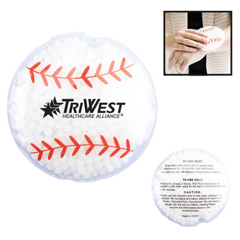 Hot/Cold Gel Pack - Sport Shapes - Baseball