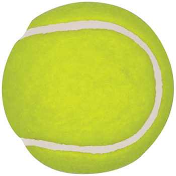 Tennis Balls, Promotional Synthetic